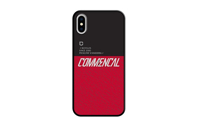 CARCASA COMMENCAL IPHONE 10 RED