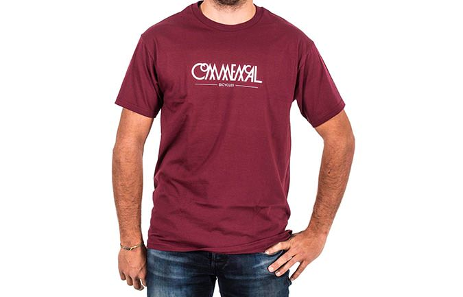 CAMISETA BUBBLE MAROON