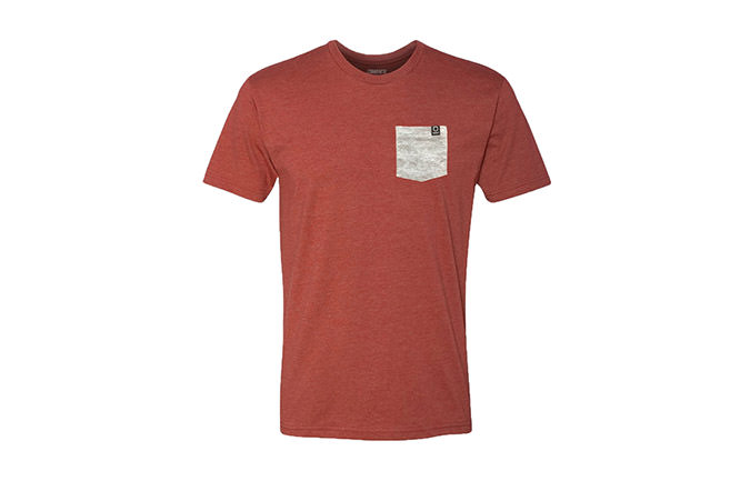 CAMISETA BASIC RED / GREY