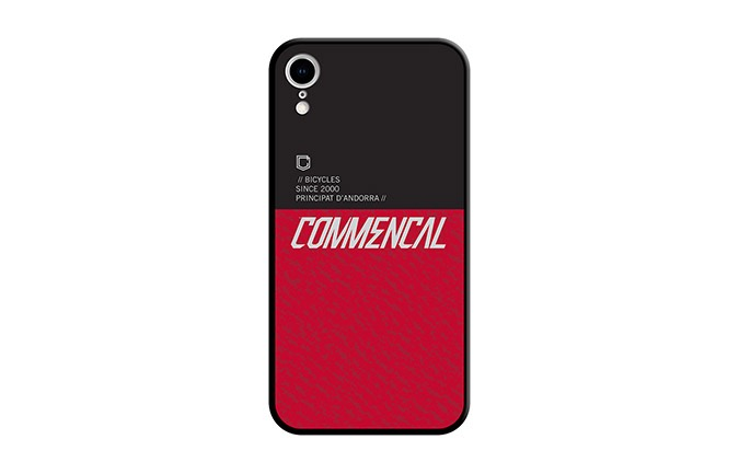 CARCASA COMMENCAL IPHONE XR RED