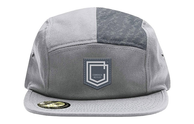 GORRA COMMENCAL FIVE PLANA SHIELD GREY 2019