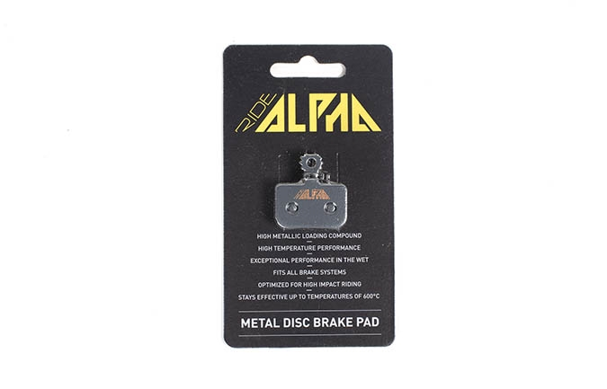 PASTILLAS RIDE ALPHA METALICAS PARA AVID LEVEL DB1/DB3/DB5 2016