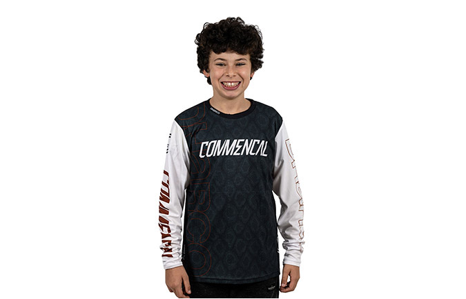 MAILLOT MANGAS LARGAS KID COMMENCAL/ DHARCO EDITION  RAMPAGE