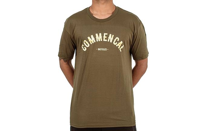 CAMISETA COLLEGE MILITARY GREEN 2018