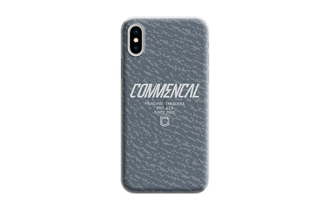 CARCASA COMMENCAL IPHONE 10 GRISE