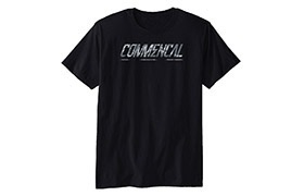 CAMISETA MANGAS CORTAS COMMENCAL CORPORATE BLACK 2019