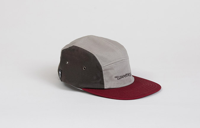 GORRA COMMENCAL KID TRICOLOR