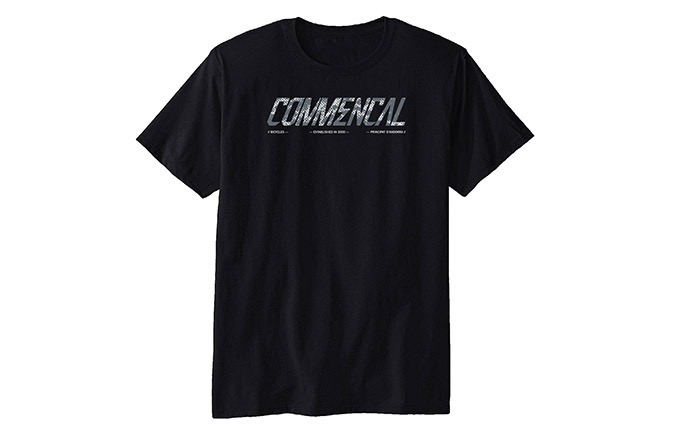 CAMISETA MANGAS CORTAS COMMENCAL CORPORATE BLACK