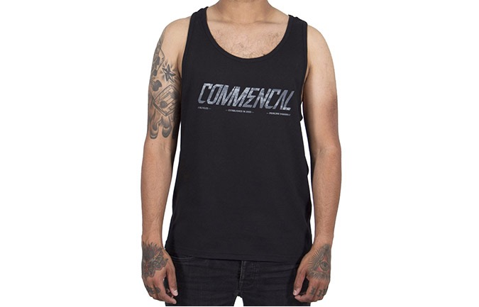TANK TOP COMMENCAL CORPORATE BLACK