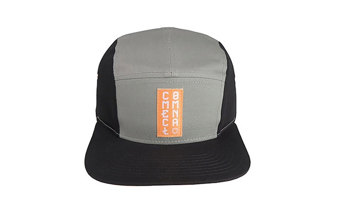 GORRA COMMENCAL FIVE PANELS GRIS 2020