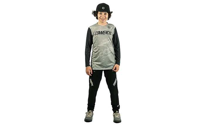 MAILLOT KIDS COMMENCAL AMAURY HERITAGE GREEN