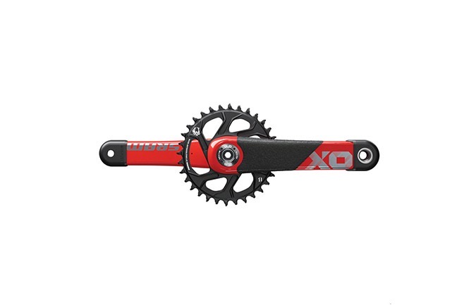 PEDALIER SRAM X01 DH RED DUB 165MM